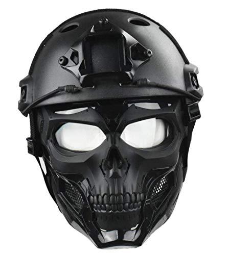 WLXW Masque Tactique Airsoft Et Casque de Paintball Rapide, Masque Intégral de Masque de Protection pour Masque de… 2