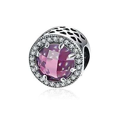 92069a8d7 NYKKOLA Jewellery Crystal Charm Bead 925 Sterling Silver fit for Pandora  Bracelet Cheap: Amazon.co.uk: Jewellery