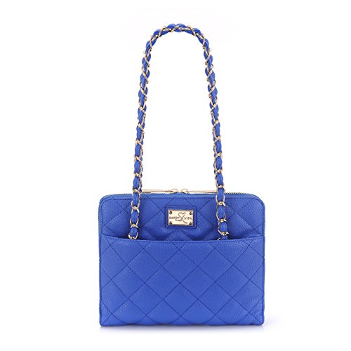 sandy-lisa-st-tropez-quilted-purse-carrying-bag-for-tablet-blue-gold