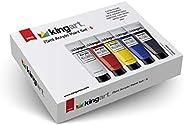 KingArt 504-5 PRO Set Acrylic Paint, 5 ea, Unique Colors 5 Piece