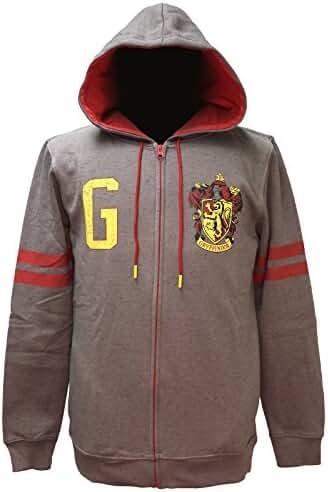 Harry Potter Men's House Varsity Zip Up Hoodie