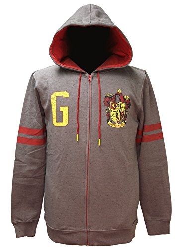 Harry Potter Men's House Varsity Zip Up Hoodie