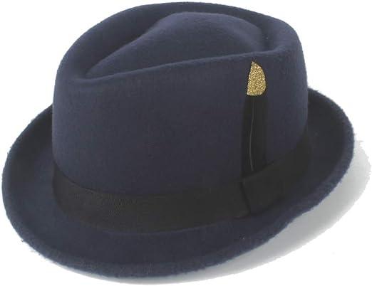 American Style DOSOMI Classic White Men s Wool Felt Fedora Hat Godfather Hat
