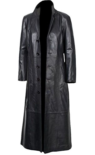 Lambskin Leather Trench - 6