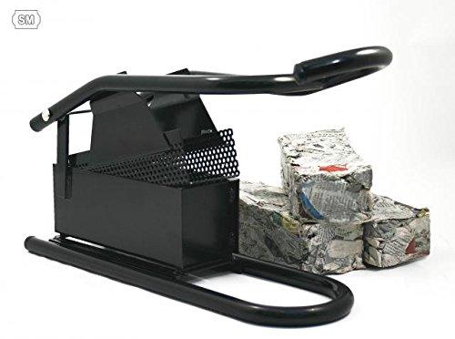 Bricchettatrice per carta, riciclare giornali per creare mattoncini Gadget Factory S.L.