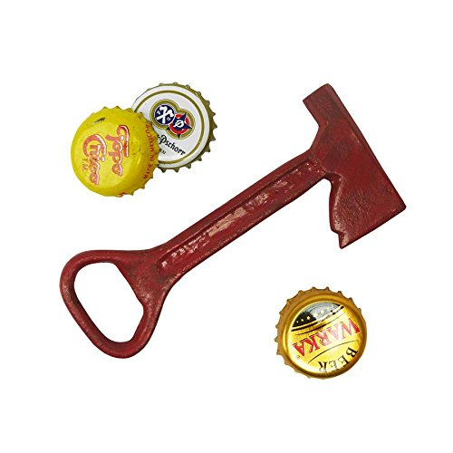 Design Toscano Fireman Ax Cast Iron Bottle Opener For Sale