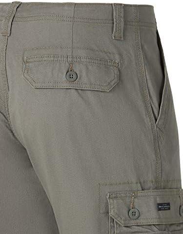 Lee Wyoming Pantalon cargo pour homme Coupe décontractée - vert - 40W x 32L