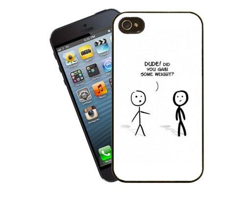 Alter hast du an Gewicht zunehmen? Witzige Handy-Hülle für iPhone 4 / 4 s - Cover von Eclipse-Geschenkideen