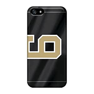 High Impact Dirt/shock Proof Cases Covers For Iphone 5/5s (new Orleans Saints)