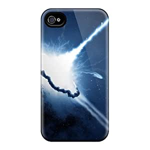 New Arrival Cases Specially Design For Case HTC One M7 Cover (space Explosion)