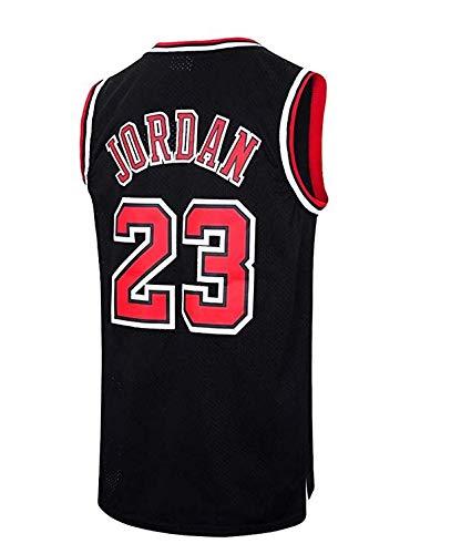 8b4e2d86 Runvian Camiseta de Baloncesto para Hombre, NBA Michael Jordan, Chicago #  23 Bulls Retro