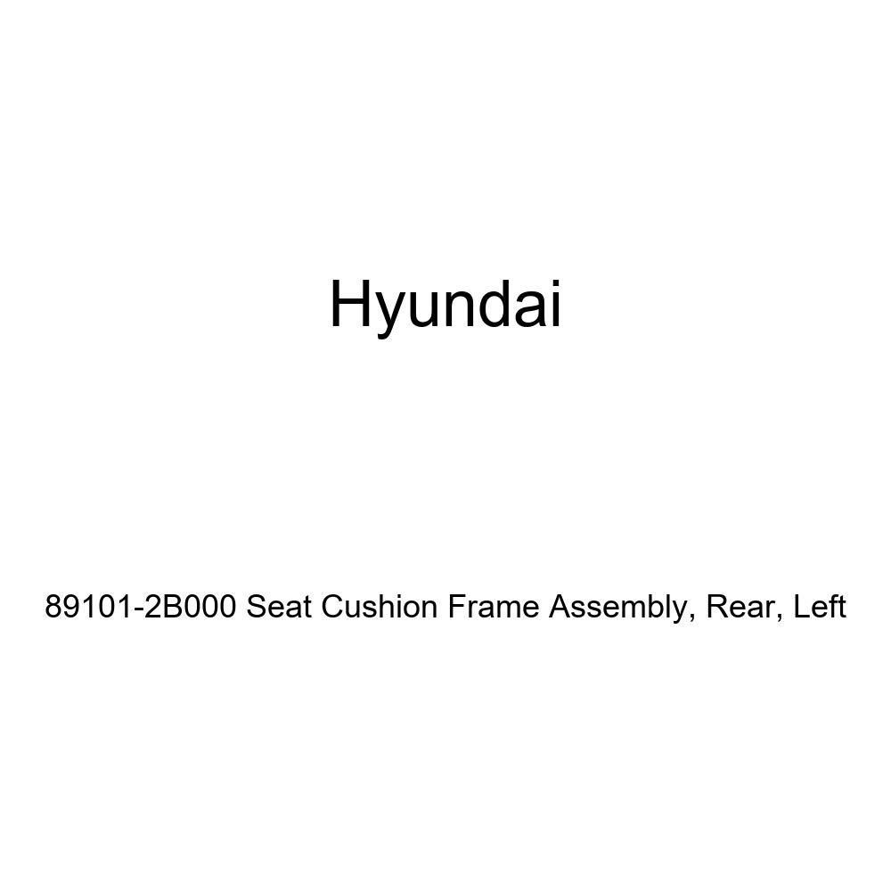 Genuine Hyundai 89101-2B000 Seat Cushion Frame Assembly Left Rear