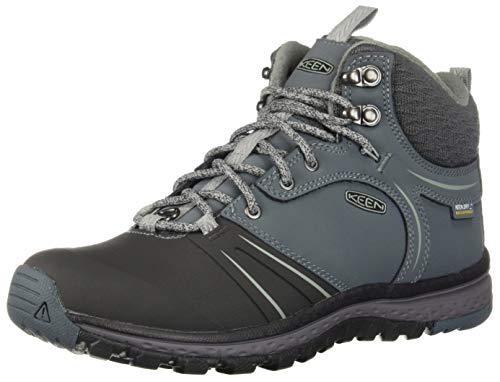 KEEN Women's Terradora WINTERSHELL Hiking Boot, Stormy Weather/Turbulence, 8 M US