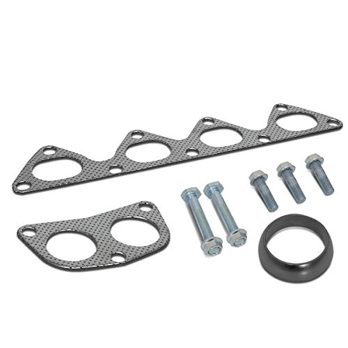 Aluminum Exhaust Manifold Header Gasket Set for 90-01 Acura Integra LS/RS/GS 1.8L