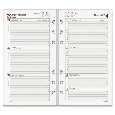 (Day Runner Express Recycled Weekly Planning Pages, 3-3/4 x 6-3/4 Inches, 2009)
