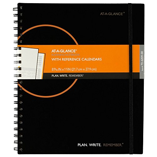 Planning Notebook Reference Calendars Plan Write Remember