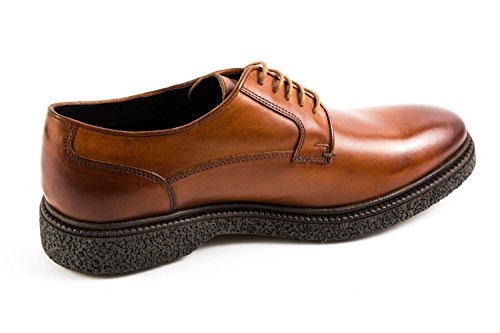 Stringate Scarpe 018 Marrone London Base BL5 Uomo Marrone xfqIU1wt