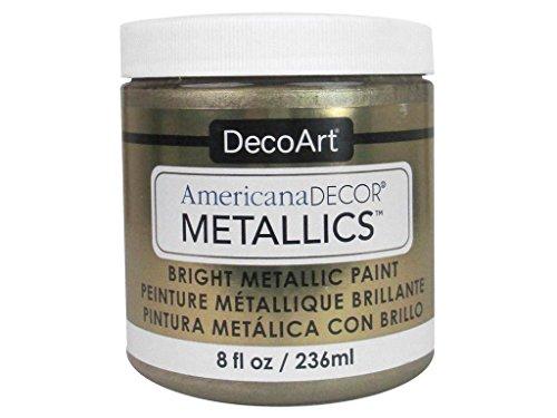 DecoArt Ameri Deco MTLC Cham Gold Americana Decor Metallics 8oz ChampagnGld