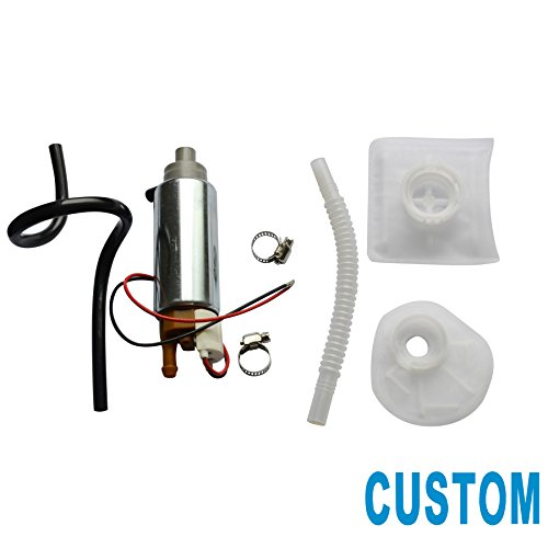 CUSTONEPARTS New High Performance Electric Fuel Pump & Installation Kit Fit 1991-2004 Chrysler Dodge E7086M E7093M E7116M E7117M E7124M E7138M E7161M