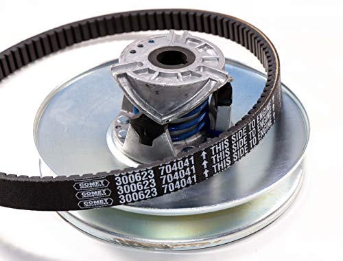 ATVWorks Kawasaki 500/520 / 550 Mule New OEM Driven (Secondary)  Converter/Clutch w/OEM Belt