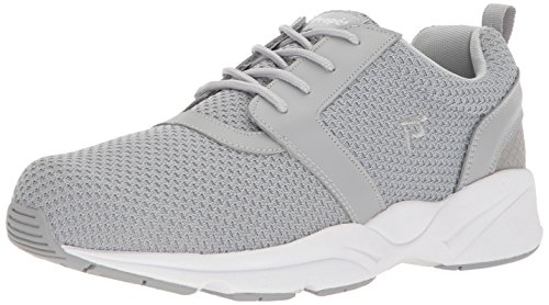 Propet Men's Stability X Sneaker, Light Grey, 11 5E US