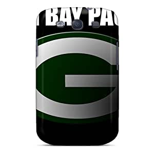 For Leoldfcto744 Galaxy Protective Cases, High Quality For Galaxy S3 Green Bay Packers Skin Cases Covers