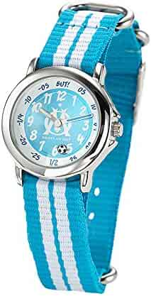 Olympique de Marseille kids Watch - textile strap