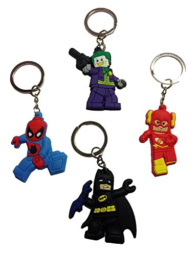 Lego Movie Keychains 4 Pcs Set #2 (Lord Of The Rings Shoes)