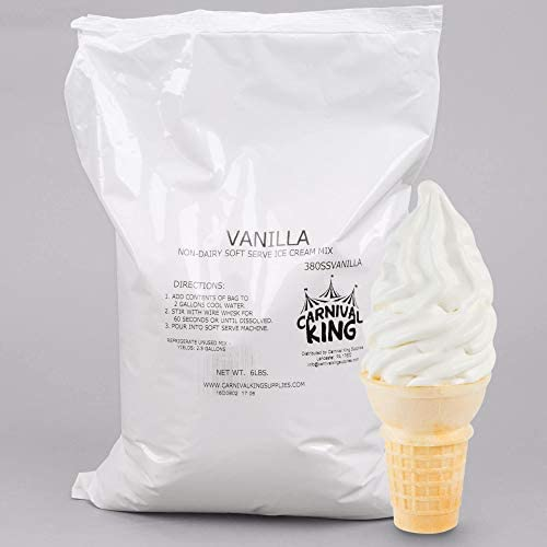 TableTop King Non Dairy Vanilla Serve