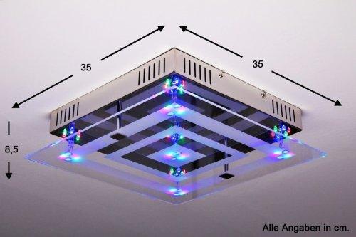 plafonnier led multicouleur
