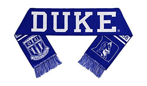 - Duke University Scarf - Classic Duke Blue Devils