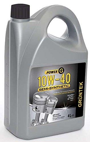 GRUNTEK 8869 Power G 10 W- 40 Semi-syntetic – aceites de Motor para