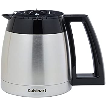 Amazon Com Cuisinart Dgb 600rc 10 Cup Stainless Thermal