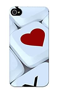 Tough Iphone PIMnrVS1112augqJ Case Cover/ Case For Iphone 5/5s(keyboard Computer Love Heart )