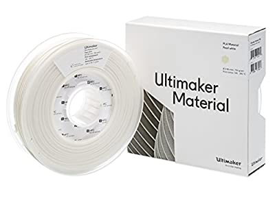 Ultimaker 3 NFC PLA Filament - Pearl White