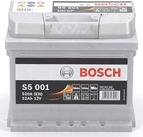 Bosch S5001 Batterie de Voiture 52Ah 520A