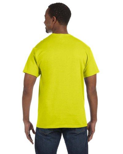 Hanes Tagless – Camiseta X-Large|Verde (SAFETY GREEN) Venta de calzado deportivo de moda en línea