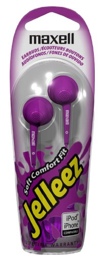 Maxell 190525 Jelleez Style Stereo Earbuds