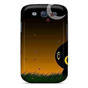 Hot Fashion LxY6259PRLe Design Case Cover For Galaxy S3 Protective Case (cat)