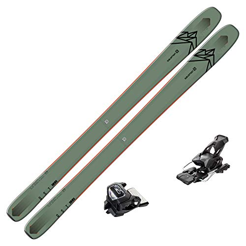 2020 Salomon QST 106 Skis w/Tyrolia Attack2 13 GW Bindings