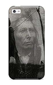 Hot Tpu Cover Case For Iphone/ 5c Case Cover Skin - Native American