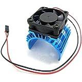 Foxnovo Dissipateur de chaleur de dissipateur de chaleur en aluminium robuste alliage avec 5V ventilateur de