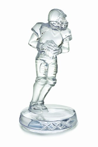 Crystal Waterford Football (Waterford Football Player Collectible)