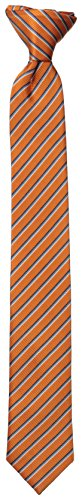 Dockers Big Boys' Striped Clip On Tie