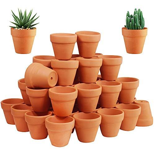 4 1 2 inch plastic flower pots - 1