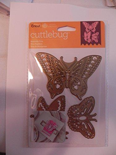 Cricut Cuttlebug Dies, Butterfly Trio