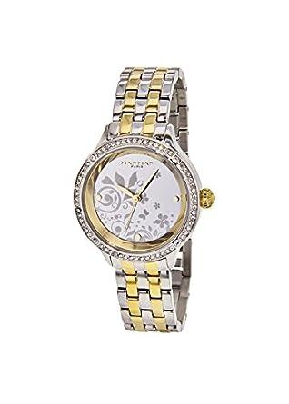 Naf Naf   -Armbanduhr  Analog  Quarz Edelstahl N10434G-304