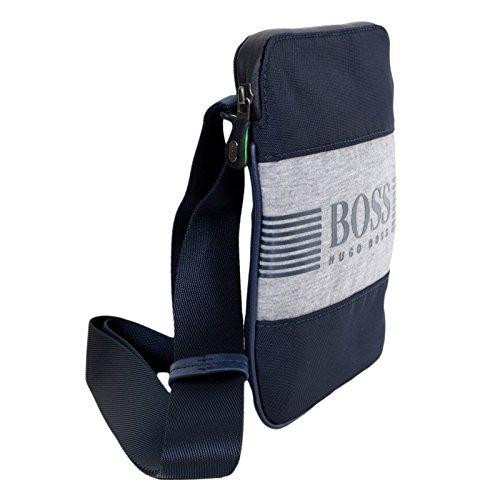 Hugo Boss - Bolso de asas para hombre azul azul marino