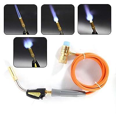 Mapp Gas Brazing Propane Self Ignition Turbo Torch