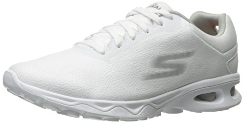 Skechers Performance Womens Go Zip Dart Walking Shoe White